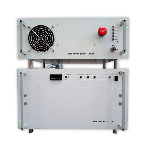 Power and cooling system for LF series pulsed lasers