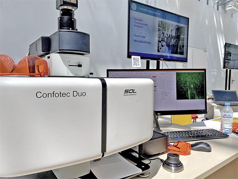 Конфокальный микроскоп Confotec® Duo производства СОЛ инструментс