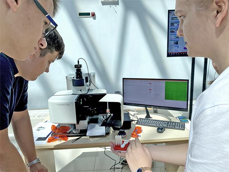 Микроскоп Confotec® Duo в образовательном центре Сириус в Сочи