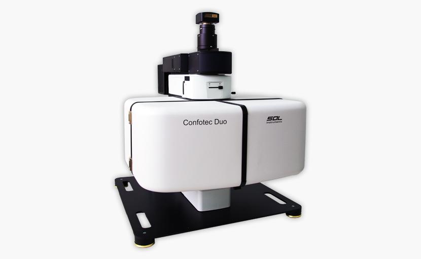 Компактный двух-лазерный микроскоп Confotec Duo