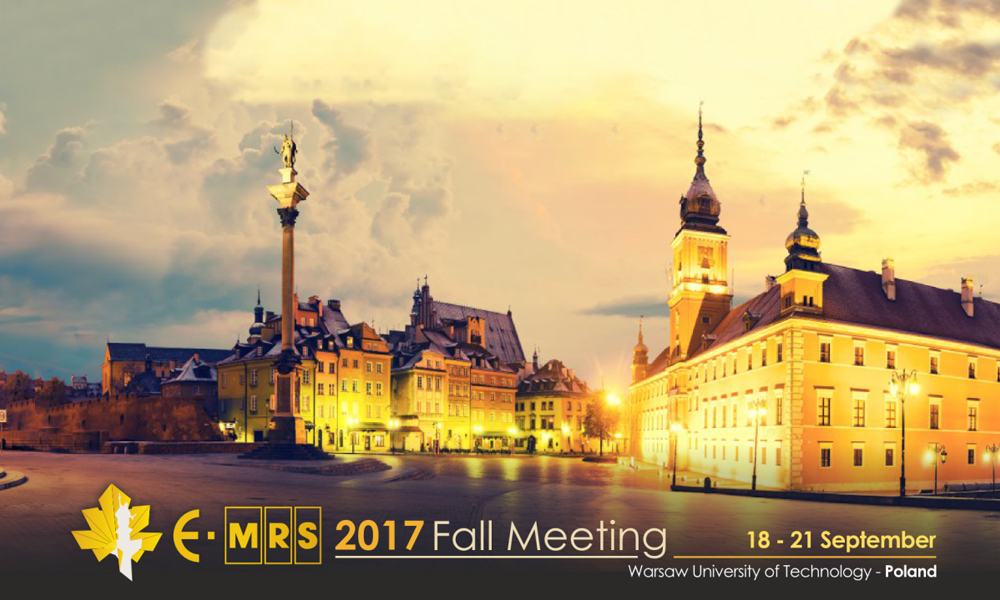 2017 E-MRS Fall Meeting and Exhibit