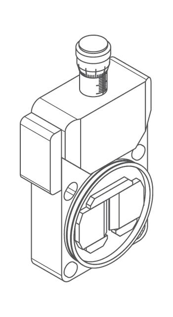 Автоматизированная спектральная щель монохроматора-спектрографа MS750