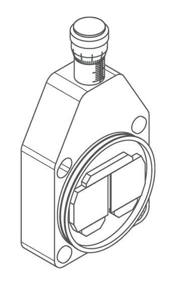 Ручная спектральная щель монохроматора-спектрографа MS750