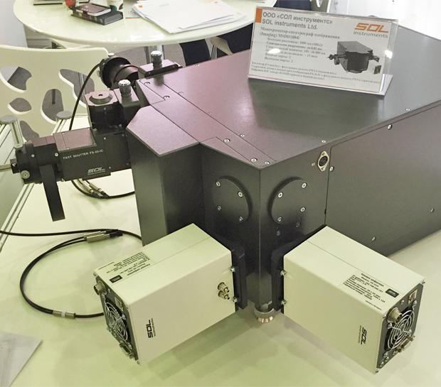 Монохроматор-спектрограф MSDD1004i производства СОЛ инструментс