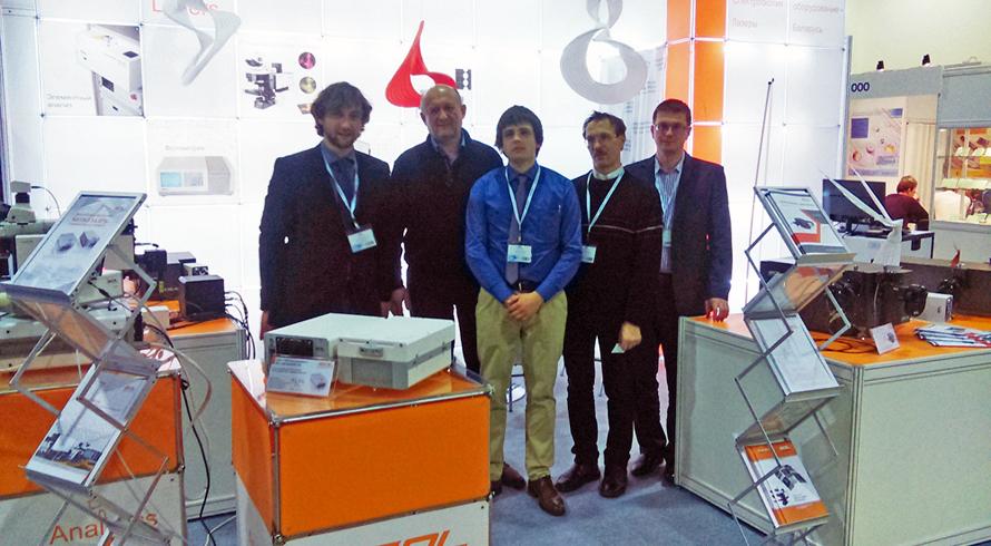 SOL instruments team at Photonics 2017