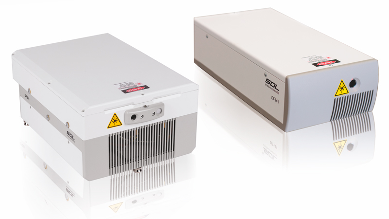 Diode-pumped pulsed lasers of DF series