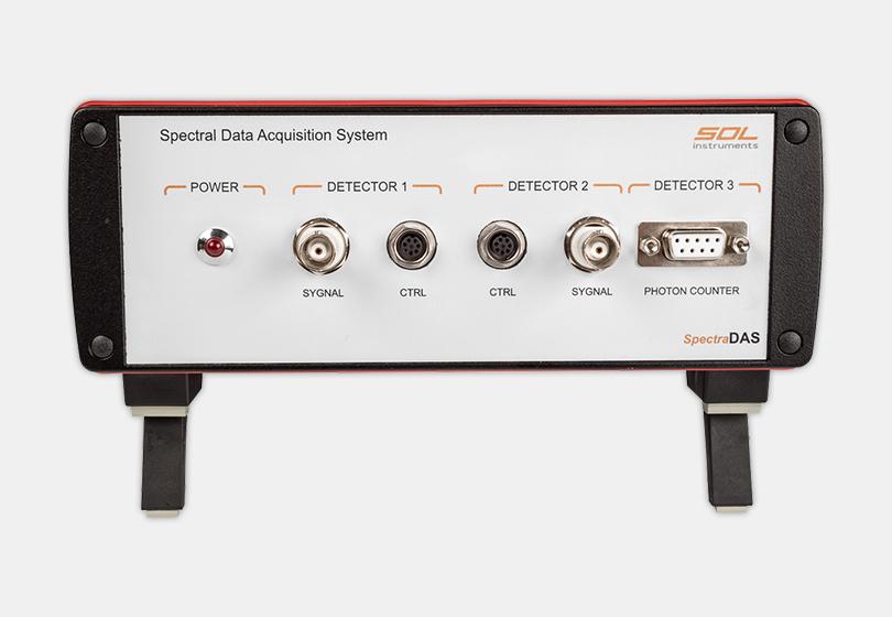 Трехканальная система регистрации SpectraDAS