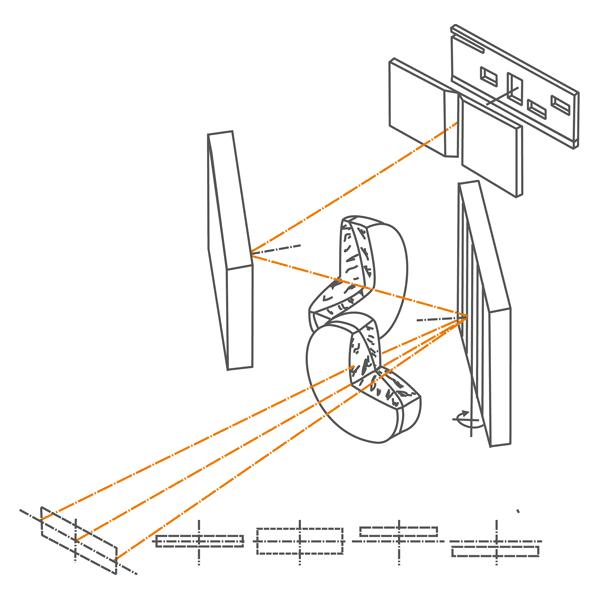 Оптическая схема спектрографа SL100M