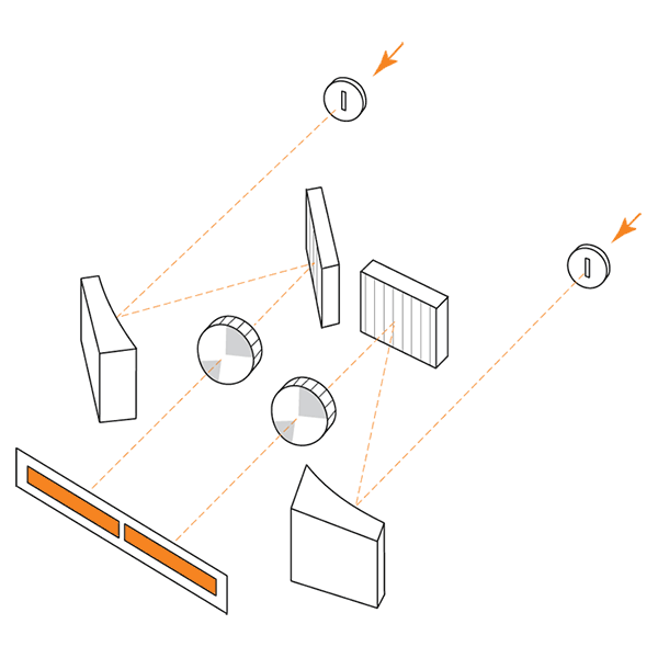 Оптическая схема спектрометра