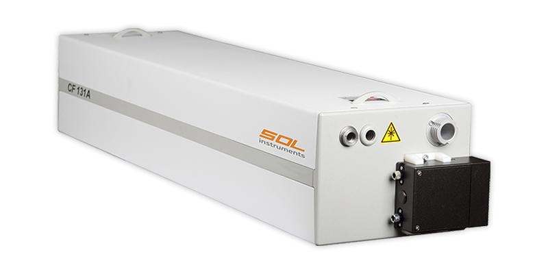 Перестраиваемый титан-сапфировый laser CF131