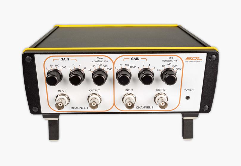 Two-channel lock-in amplifier SpectraLIA